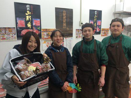 小和田屋ミートのフリー素材(市場の写真)
