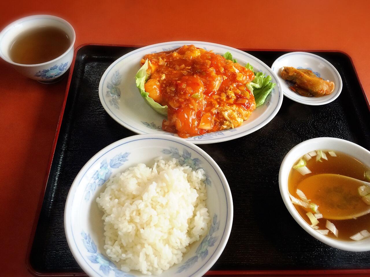 川崎市地方卸売市場南部市場食堂中華東方紅飯店
