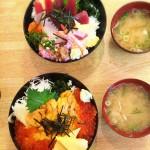 ランチ「お魚やの市場寿司」
