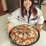 幸市場の食材で手作り☆ちらし寿司
