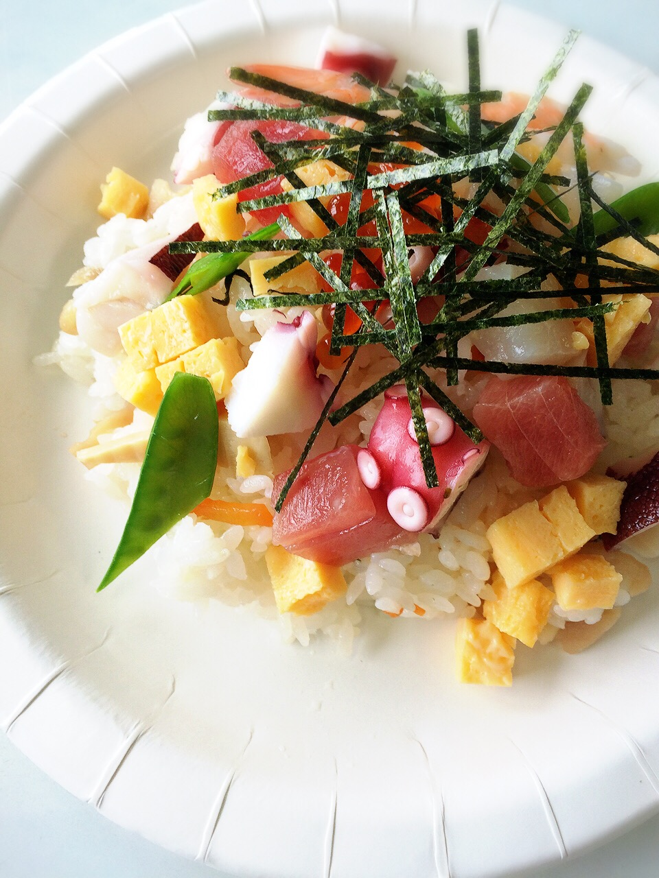 川崎市地方卸売市場南部市場海鮮ちらし寿司