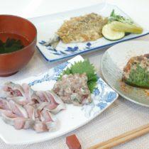 川崎幸市場-イワシ料理