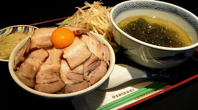 川崎市地方卸売市場 南部市場 食堂業者 水喜(ねぎ塩チャーシュー丼)