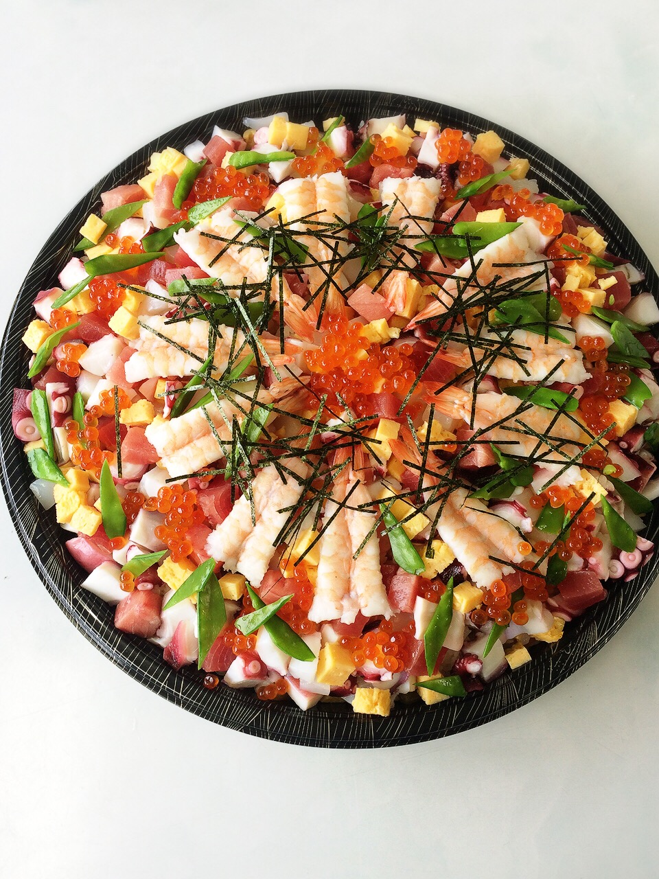 川崎市地方卸売市場南部市場ちらし寿司かご福