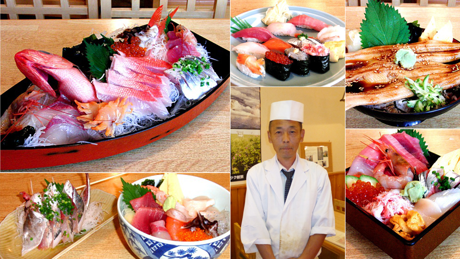お魚やの市場寿司