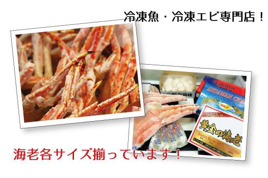 冷凍魚・冷凍エビ専門店!水祥