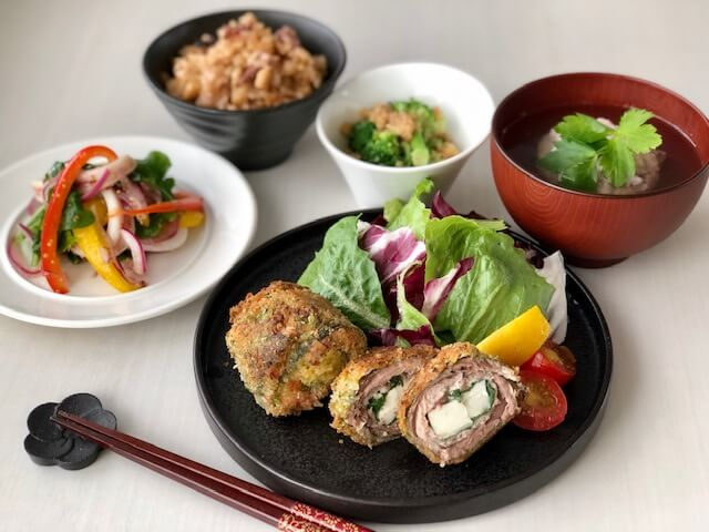 川崎幸市場本格和食!一汁三菜を作る料理教室