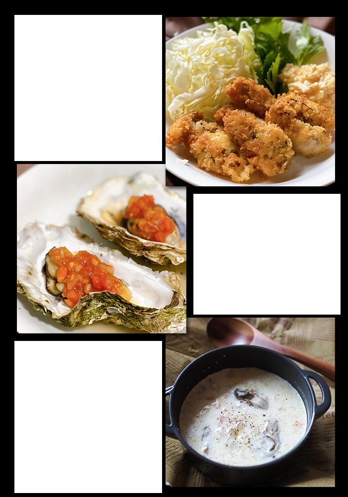 川崎幸市場牡蠣フライタルタルソース牡蠣チャウダー蒸し牡蠣さっぱりカクテルソース料理教室